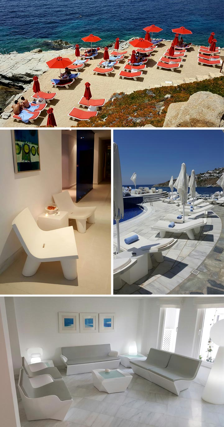 Petasos Beach Resort & Spa in Mykonos, Griechenland